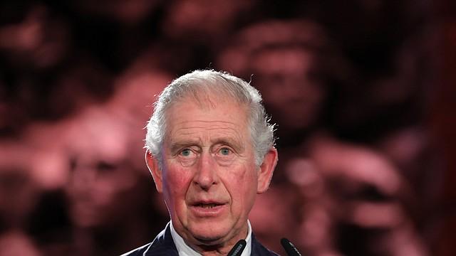 MUNDO. El príncipe Carlos de Gran Bretaña durante el Quinto Foro Mundial del Holocausto en el museo conmemorativo del Holocausto Yad Vashem en Jerusalén, Israel, el 23 de enero de 2020. | Foto: Efe.