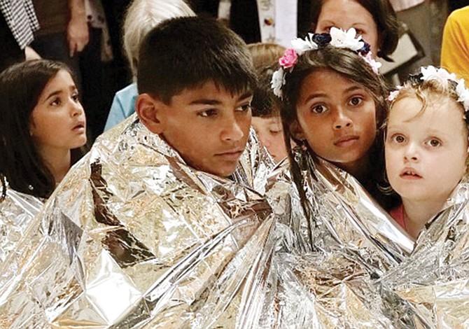 En centros de detención: Más de mil niños en riesgo de contagio