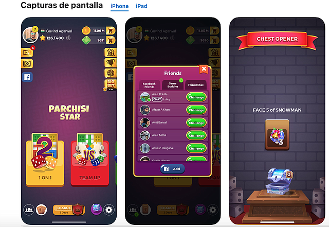 JUEGO. Parchis STAR