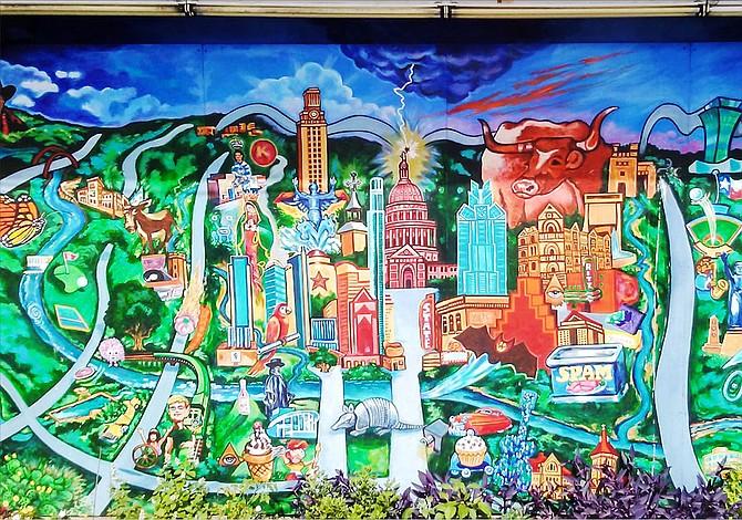 Joyas pictóricas en las calles de Austin