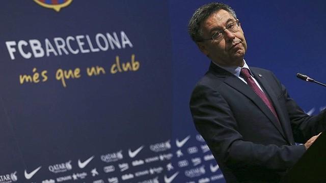 APUNTADO. Josep María Bartomeu, presidente del Barcelona/EFE