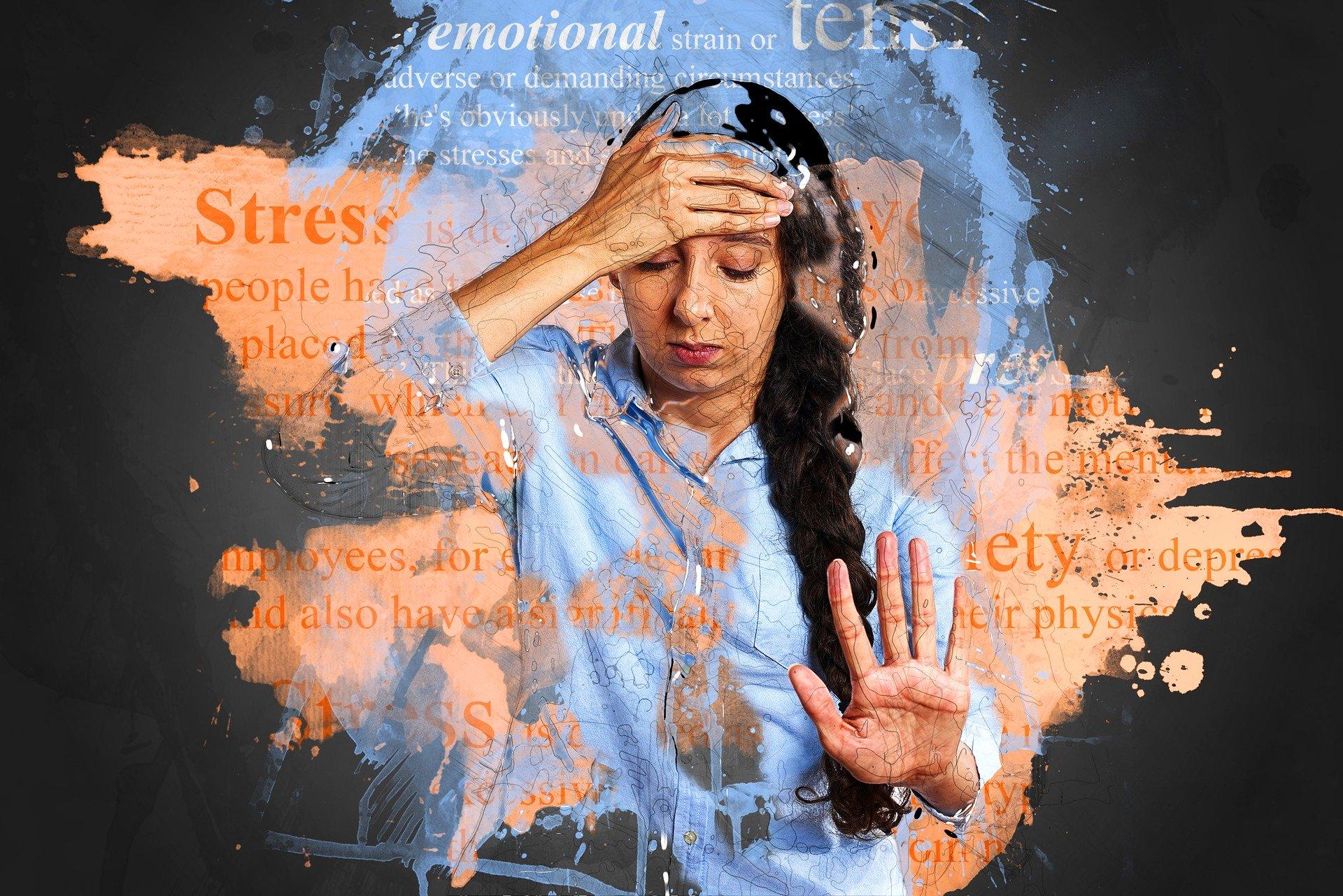 Comportamientos como las compras nerviosas, la paralización, los pensamientos catastróficos y los antojos por comer son una respuesta a la ansiedad. Foto: Pixabay