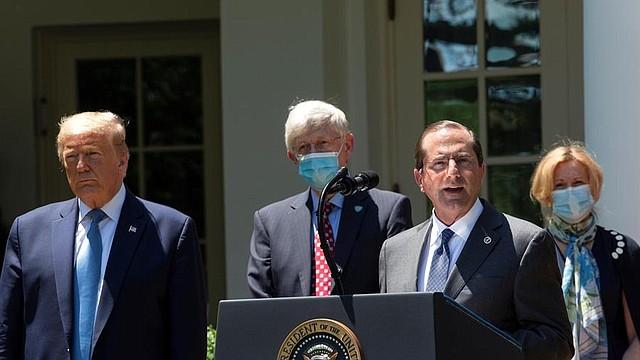 VIRUS. La Casa Blanca insiste en responsabilizar a China por la propagación del COVID-19.