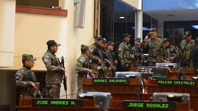 LEGISLATIVO. La toma violenta del Congreso es una de las principales críticas del Departamento de Estado al presidente Bukele. Foto EDH/archivo.