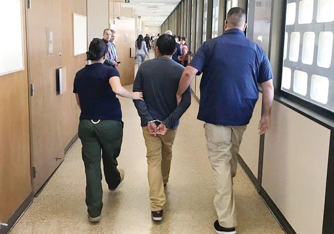 Lucha contra arrestos sorpresa en las Cortes migratorias