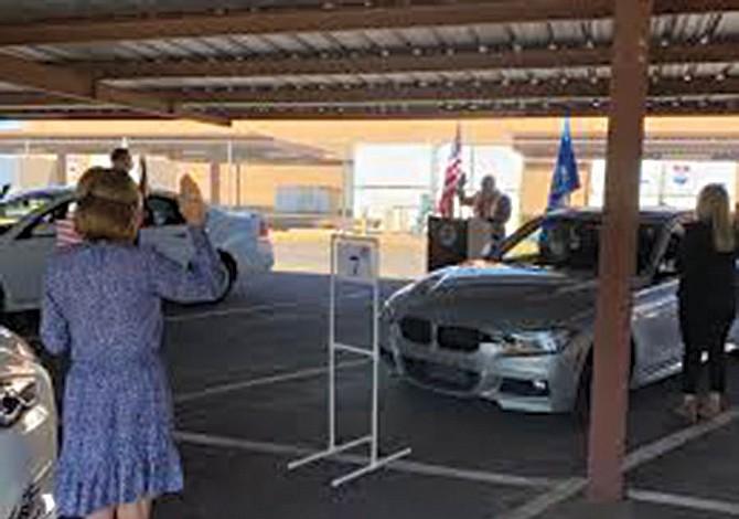 Inusual ceremonia de ciudadanía