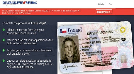 Licencias en Texas serán tramitadas por citas