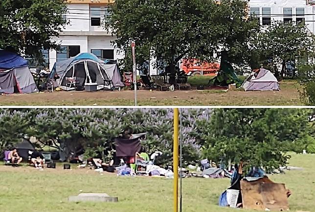 Se multiplican los campamentos ambulantes