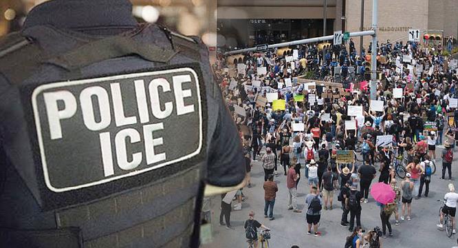 Protestas son trampas  para los indocumentados