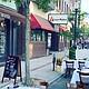 Taranta, restaurante del chef peruano José Duarte, adaptó un espacio de la concurrida Hanover St. en el North End de Boston para comenzar a servir comida en la Fase 2 de apertura de Massachusetts. | FOTO: Cortesía