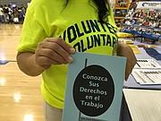 CARENCIAS. Inseguridad alimentaria y falta de salud afectan a la comunidad de inmigrantes de Culmore.  | FOTO: Cortesía VACOLAO