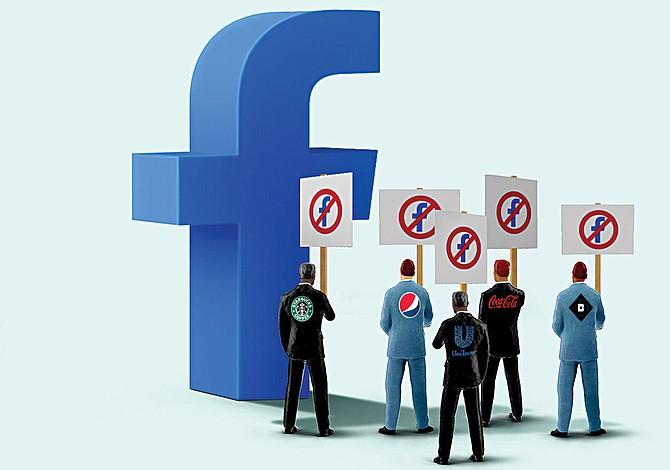 Poderoso boicot comercial a Facebook