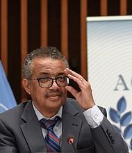 RECOMENDACIONES. Tedros Adhanom Gebreyesus, director de la OMS, marcó una hoja de ruta a seguir para lidiar con la pandemia. | Foto: Efe.