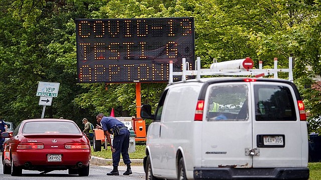 CUARENTENA. La orden no aplica para viajeros desde y hacia Maryland ni Virginia. | Foto: Efe/ Shawn Thew.