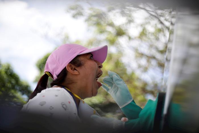 VIRUS. El país registra más de 15 mil contagios hasta la fecha/EFE