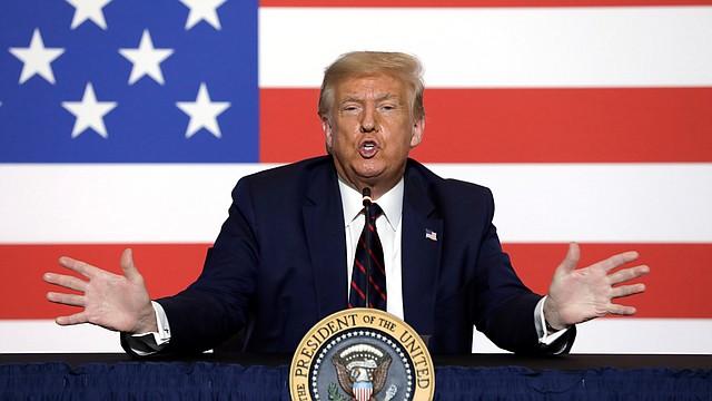 POLÍTICA. Trump considera que habrá fraude si las elecciones de noviembre se realizan vía correo. | Foto: Efe.