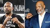 CHOQUE. La pelea de exhibición entre dos titantes del boxeo mundial,  Roy Jones Jr. y Mike Tyson, se realizará el 28 de noviembre en Los Ángeles.