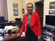 ANUNCIO. La congresista Eleanor Holmes Norton anunció que el Congreso aprobó $40 millones para financiar el programa DCTAG. | FOTO: Website de la congresista