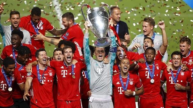 CELEBRACIÓN. El conjunto bávaro es tercero entre los más ganadores del torneo/EFE