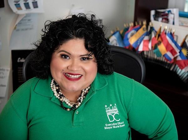 Jackie Reyes-Yanes | Directora ejecutiva, Oficina de la Alcaldesa Muriel Bowser para Asuntos Latinos (MOLA) | FOTO: Cortesía