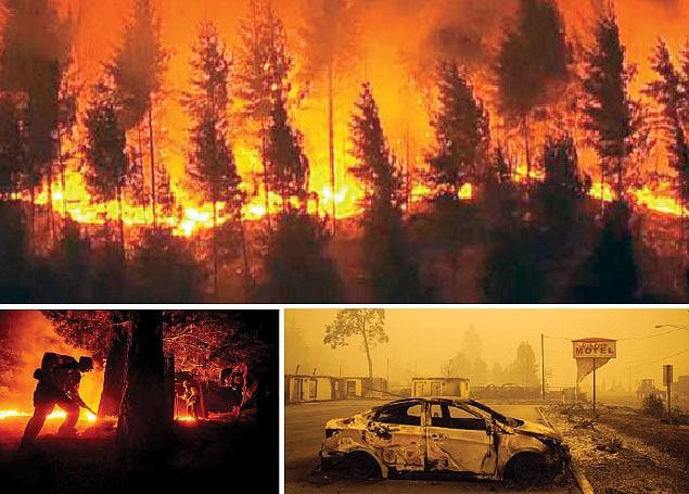 Por incendios forestales: Cambio climático entra  al debate electoral
