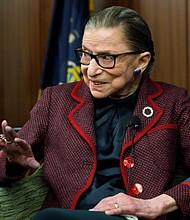 SUCESO. La jueza Ruth Bader Ginsburg se convirtió en un referente mundial en la lucha por la igualdad de género. | Foto de archivo: Efe.
