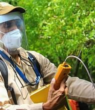 SISMOS. Un equipo de expertos se desplazó a la zona del volcán de San Salvador para realizar algunos estudios. | Foto: @PROCIVILSV.