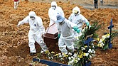 REALIDAD. Las muertes por la pandemia en este país equivalen a 60 fallecimientos por cada 100,000 habitantes,