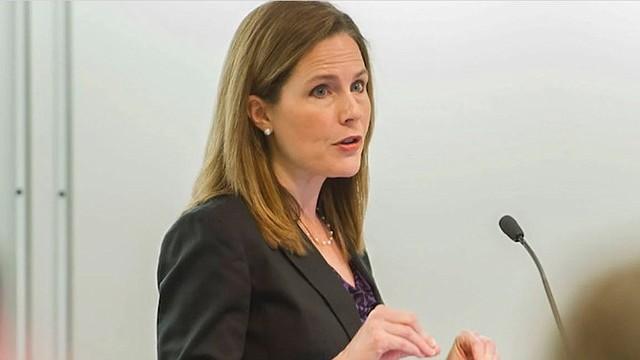 POLÍTICA. Amy Coney Barrett, jueza estadounidense/EFE