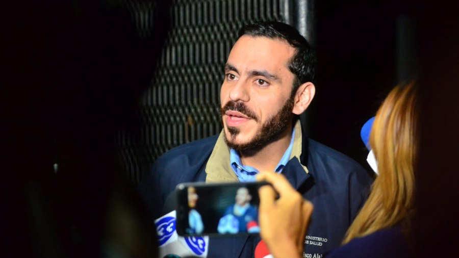 PANDEMIA. El ministro de Salud, Francisco Alabí, fue citado con apremio. | Foto EDH / Yessica Hompanera.