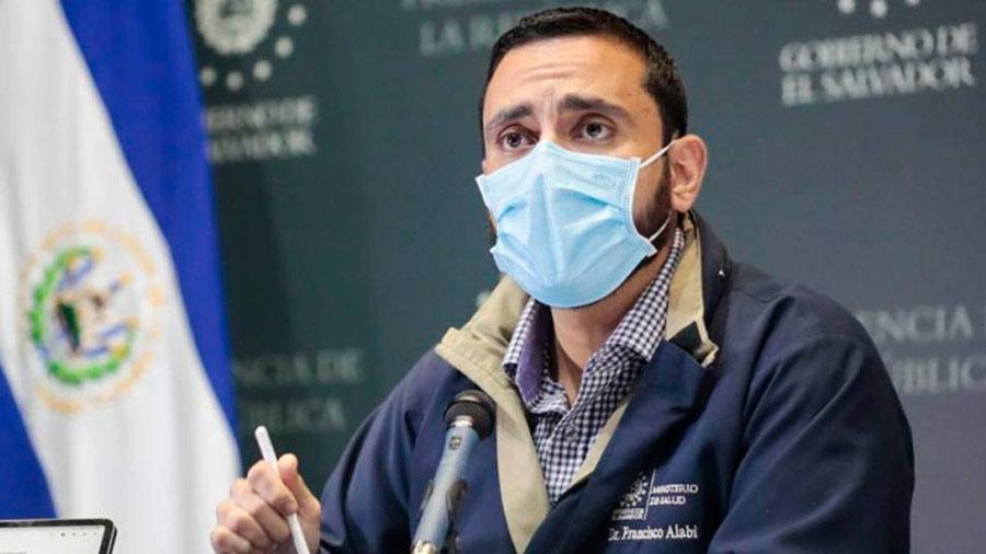 PANDEMIA. Francisco Alabí, ministro de Salud, se refirió al reciente aumento de casos de COVID-19. | Foto: EDH / Cortesía.
