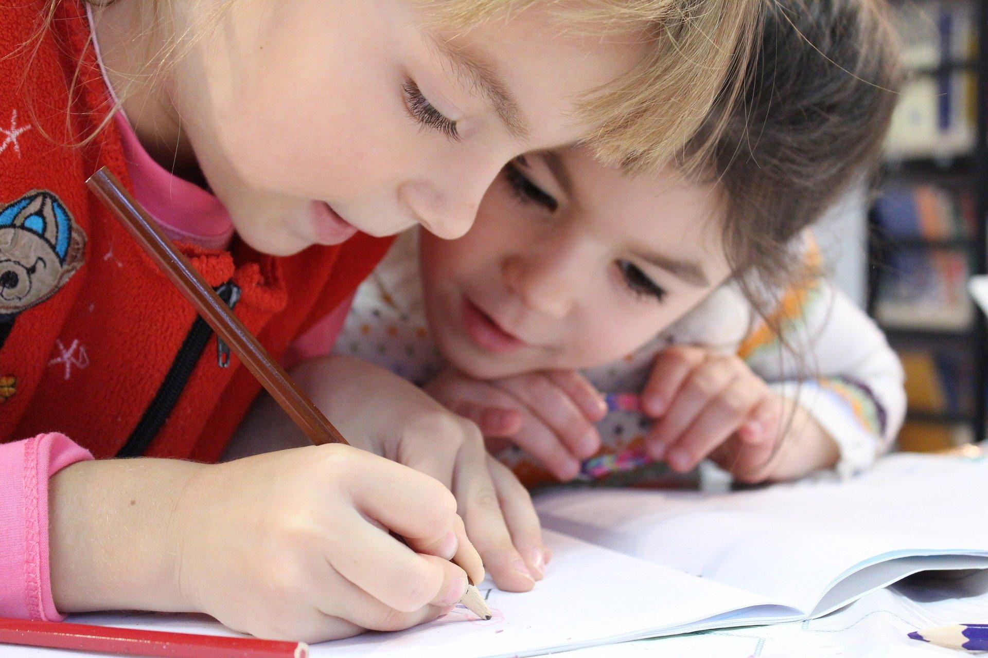 EDUCACIÓN. Niños estudiando en aprendizaje remoto. Pixabay