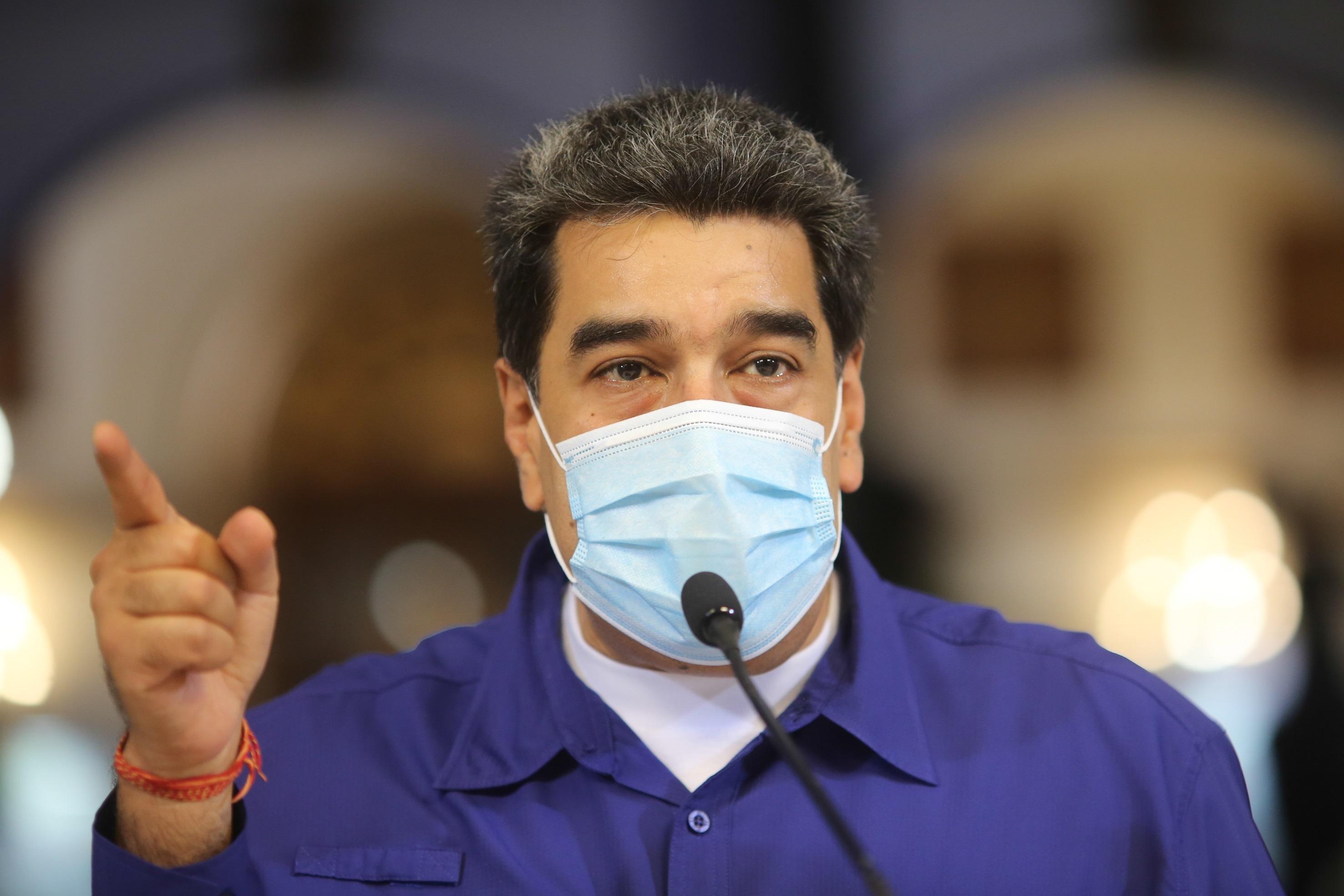 POLÍTICA. Nicolás Maduro recurre a alianzas con el crimen organizado internacional y el terrorismo que le resultan estratégicas. | Foto: Efe