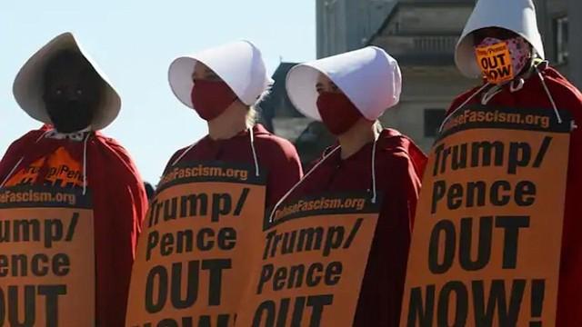 MARCHA. Miles de mujeres se concentraron en la capital/Astrid Riecken-The Washington Post