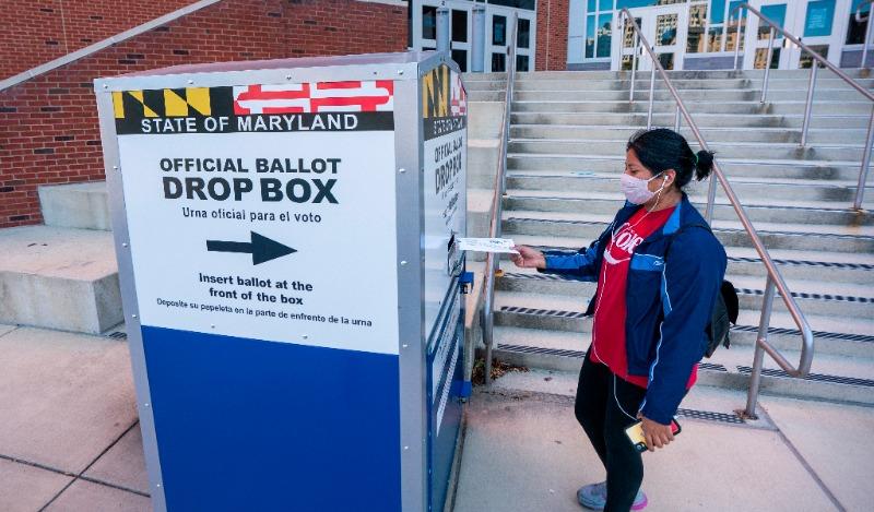 ELECCIONES. El Proyecto de Elecciones de EEUU refirió que poco más de 35,1 millones de personas han votado/Efe-Jim Lo Scalzo