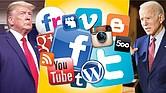 SEVEROS. Twitter y Facebook están haciendo cumplir sus políticas de uso con más dureza en las semanas previas a la elección presidencial. Facebook, por ejemplo, vetó a cientos de páginas y grupos vinculados a QAnon, aunque no promuevan la violencia.