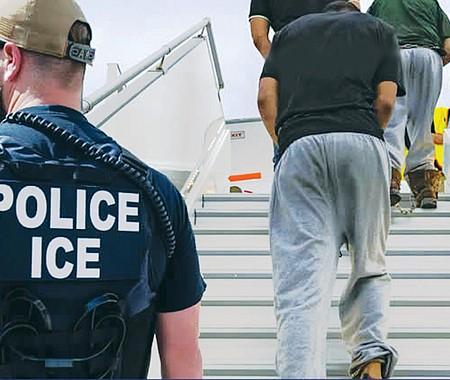 CONCEPTO. La declaración oficial del ICE asegura que acelerar las expulsiones de indocumentados ayudará a evitar que los 'delincuentes peligrosos' ingresen a las comunidades para reincidir en delitos variados.