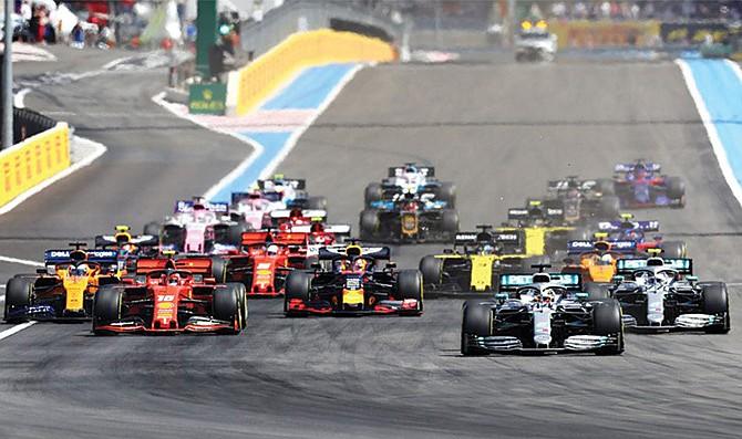El calendario tentativo de la Fórmula 1 para el 2021