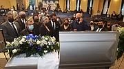 DESPEDIDA. En los honores fúnebres a don Carlos Osorio, se unieron decenas de representantes de la comunidad deportiva. | FOTO:  Tomás Guevara – ETL  |