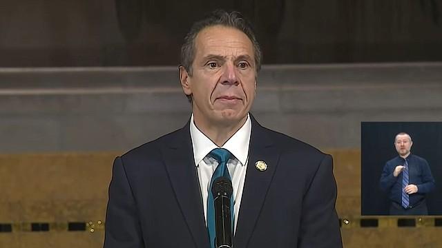"""DECLARACIÓN. """"Presentaremos medidas legales para proteger a los neoyorquinos"""", aseguró el gobernador Cuomo.   Foto: captura de pantalla de Youtube/Governor Andrew M. Cuomo."""