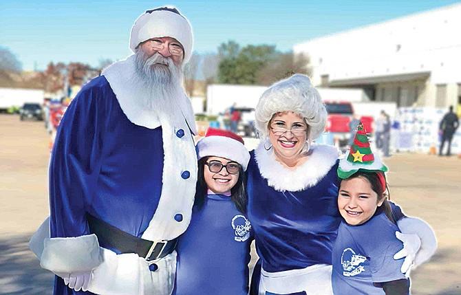 ¡Regístrese para Operación Blue Santa!