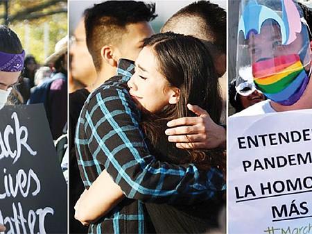 INNEGABLE. Un informe reciente del FBI demuestra que el racismo, el sentimiento antilatino, el antisemitismo y la homofobia siguen siendo problemas urgentes en este país.