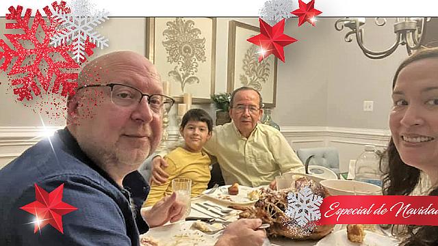 DIVERSIDAD. Familias hispanas del área de DC, provenientes de diversos países, conversaron con El Tiempo Latino sobre los platillos que prepararán en navidad.   FOTO: Cortesía  