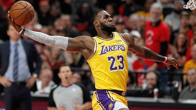 LÍDER. LeBron James guió a los Lakers a su décima séptima corona/EFE