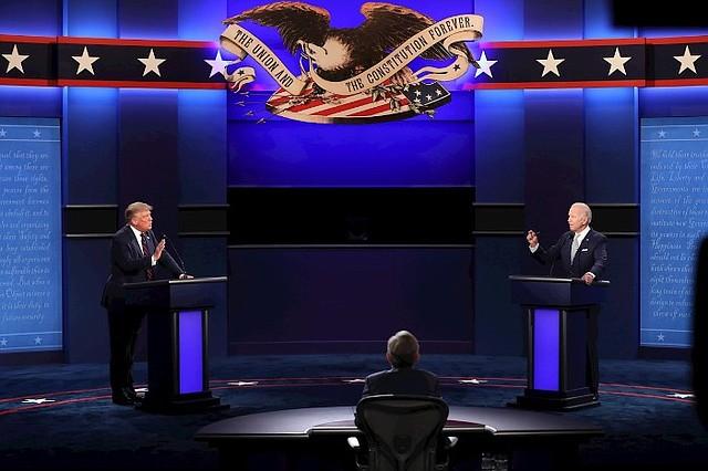 POLÍTICA. Donald Trump (izq.) y Joe Biden (der.) fueron las figuras de la política en 2020/EFE