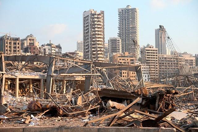 TRAGEDIA. Beirut sintió los efectos de una explosión que acabó con la vida de más de 220 personas/EFE