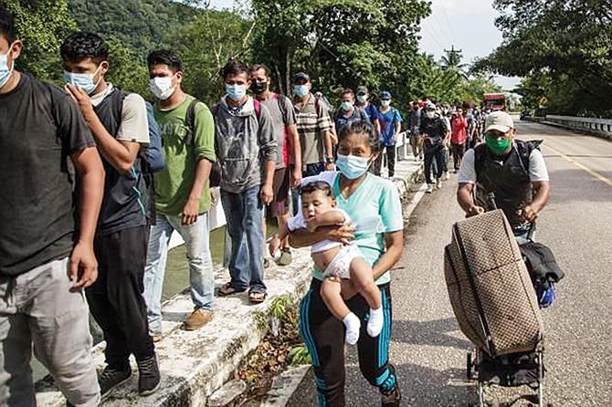 EN LAS REDES SOCIALES: Promueven nueva caravana migrante