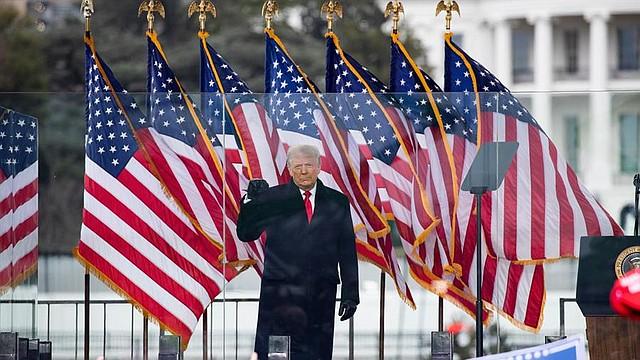 POLÍTICA. El mandatario saliente aceptó este jueves la transición hacia la Administración Biden. | Foto: Efe.