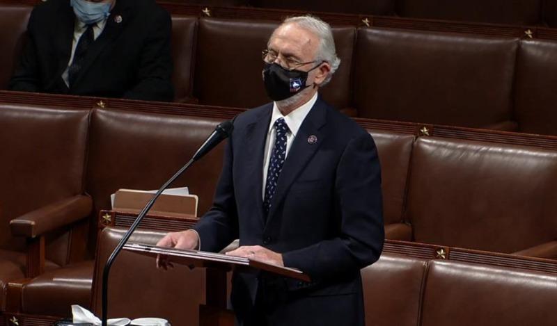 POLÍTCA. Dan Newhouse, representante del Partido Republicano en la Cámara Baja/EFE
