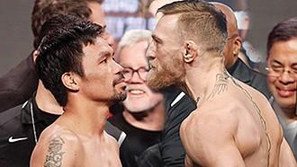 Manny Pacquiao contra Conor McGregor.